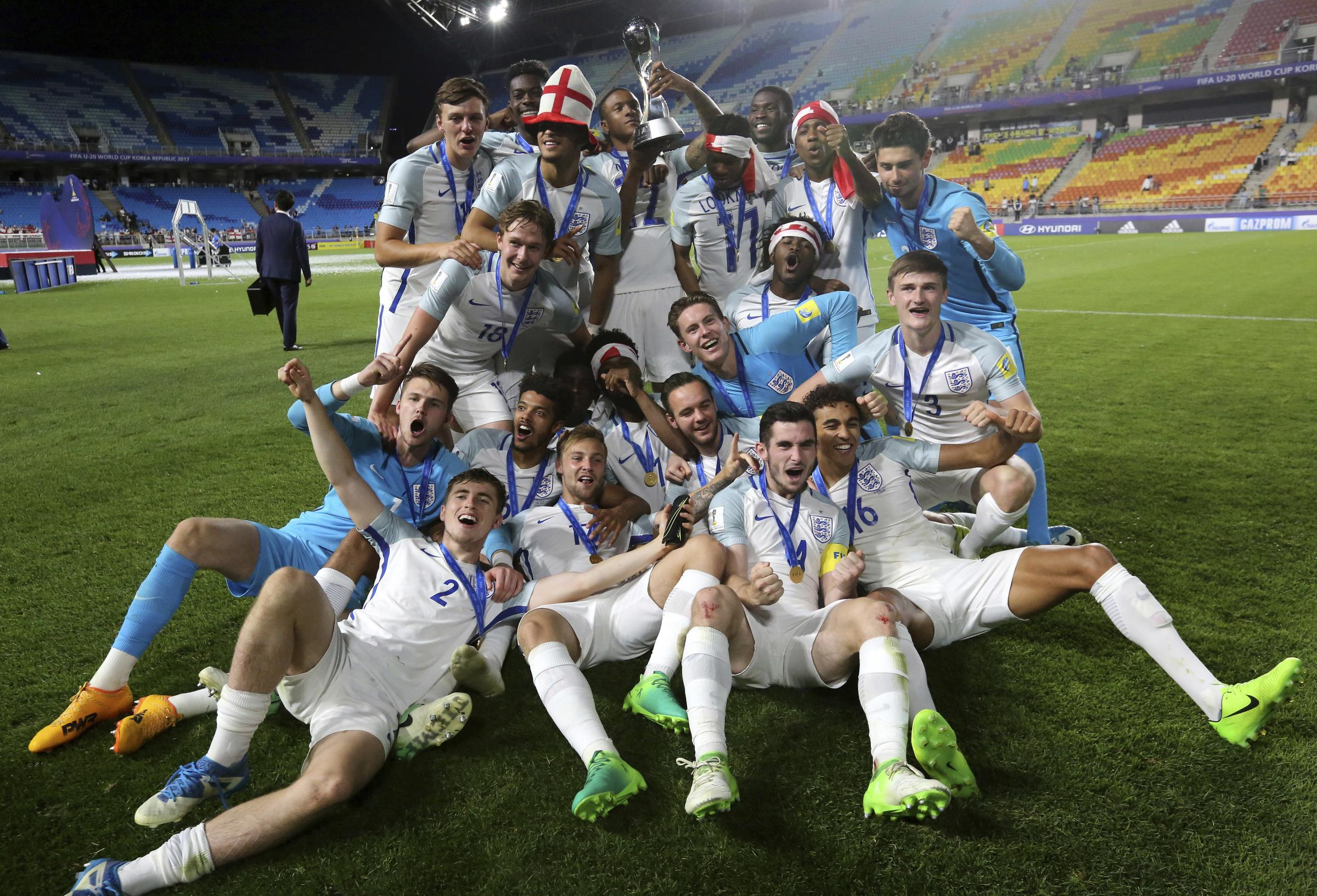 England beat Venezuela to become Federation Internationale de Football Association U-20 World Cup champions