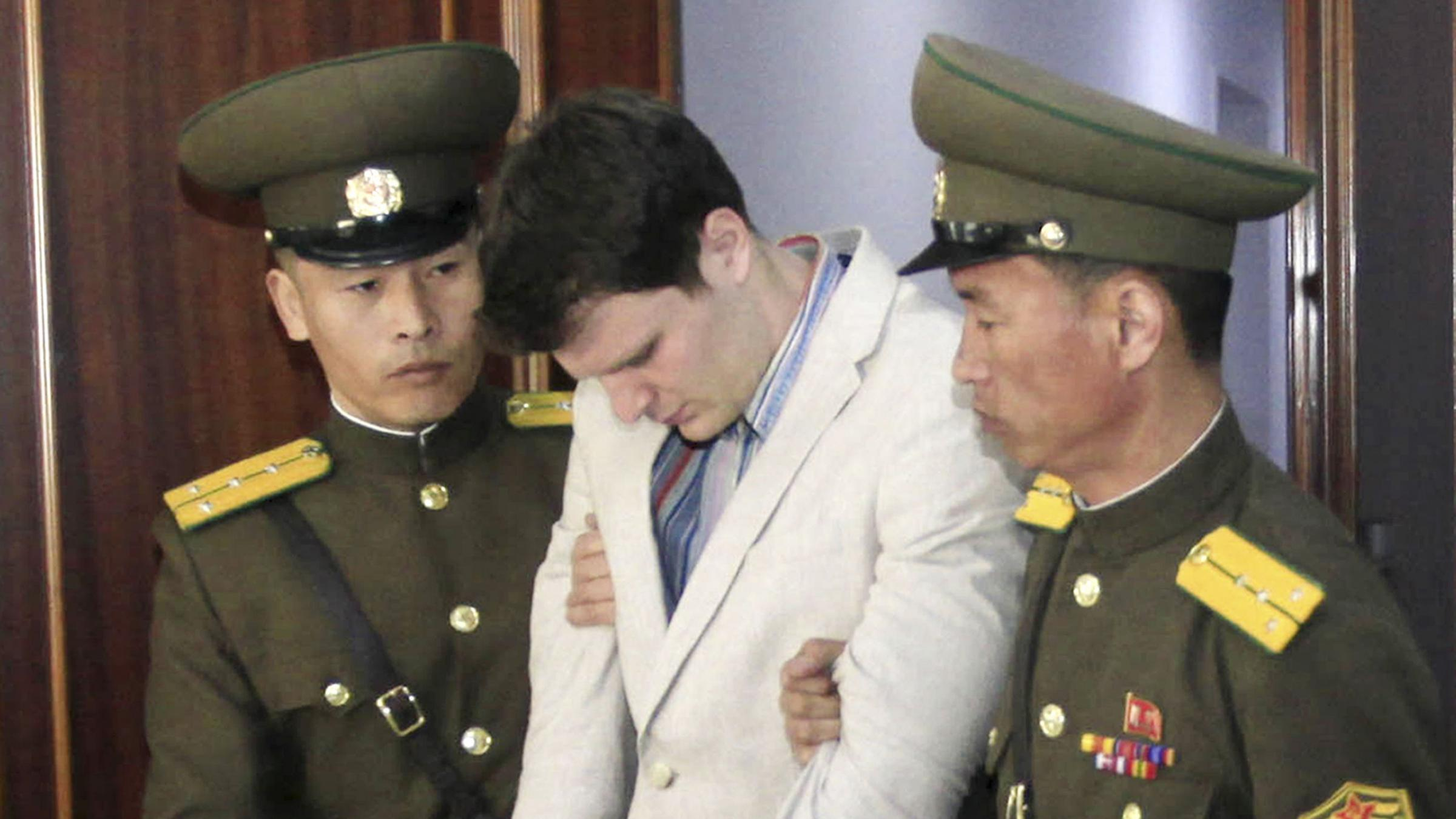 Cause of United States student's 'extensive' brain damage mystery after North Korea release