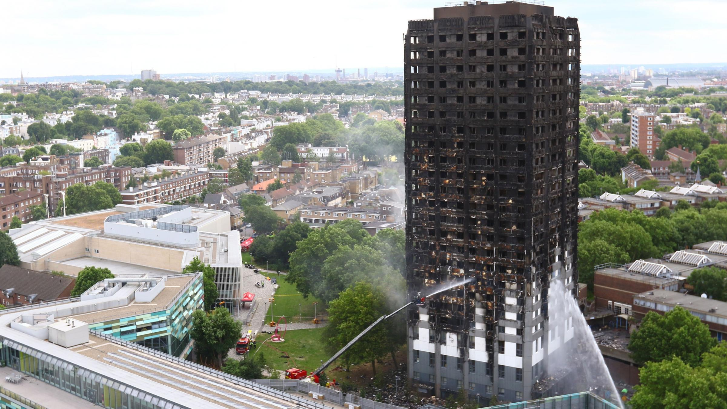 Theresa May Wants Answers About The London Apartment Tower Fire